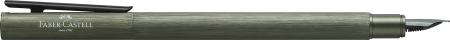 Stilou Neo Slim Aluminium Verde Faber-Castell1