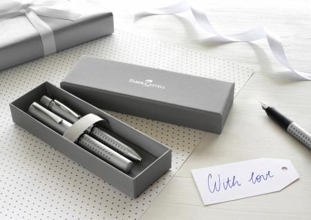 Set Stilou + Pix Grip 2011 Argintiu Faber-Castell [5]