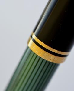 Stilou Souveran M1000 Negru-Verde Pelikan [2]