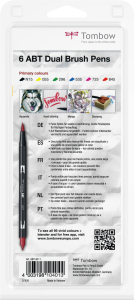 Set 6 Culori Primare Dual Brush Pen Tombow [3]