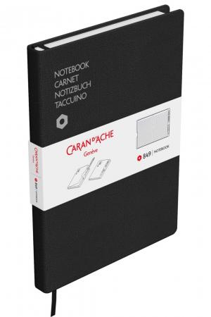 Agenda A5 Canvas Cover Black Caran d'Ache [6]