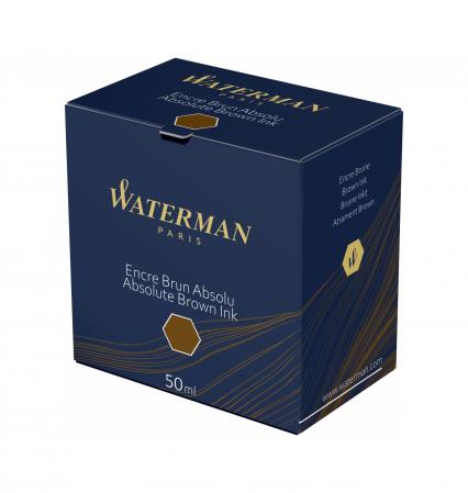 Calimara Cerneala Waterman Absolute Brown 50 ml permanent [3]