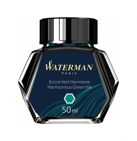 Calimara Cerneala Waterman Harm Green 50 ml permanent [0]