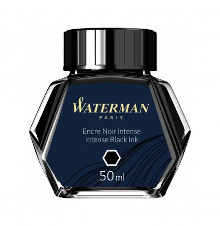 Calimara Cerneala Waterman Intense Black 50 ml permanent [2]