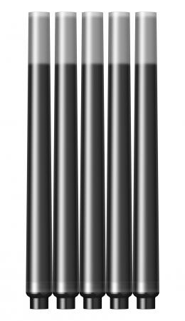 Cartuse Cerneala Parker Quink Black set 5 buc [6]