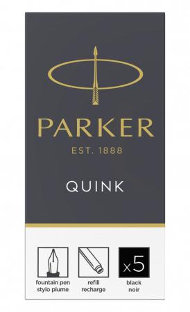 Cartuse Cerneala Parker Quink Black set 5 buc [4]
