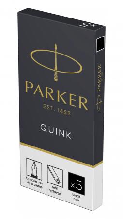 Cartuse Cerneala Parker Quink Black set 5 buc [5]