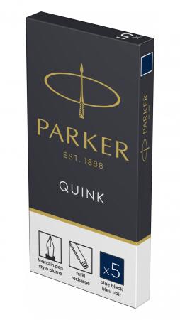 Cartuse Cerneala Parker Quink Blue Black set 5 buc [1]