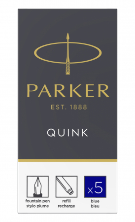 Cartuse Cerneala Parker Quink Blue set 5 buc [0]