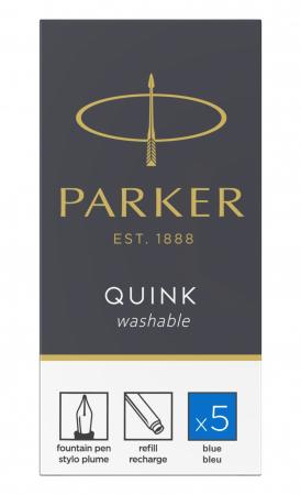Cartuse Cerneala Parker Quink Washable Blue set 5 buc [0]