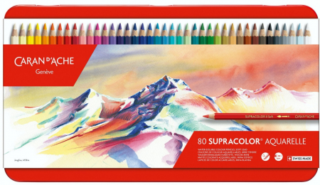 Creioane Colorate SUPRACOLOR 80 culori Caran d'Ache [0]