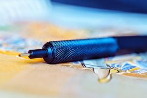 Creion Mecanic 0.7 Seria 600 Iron Blue Rotring [2]