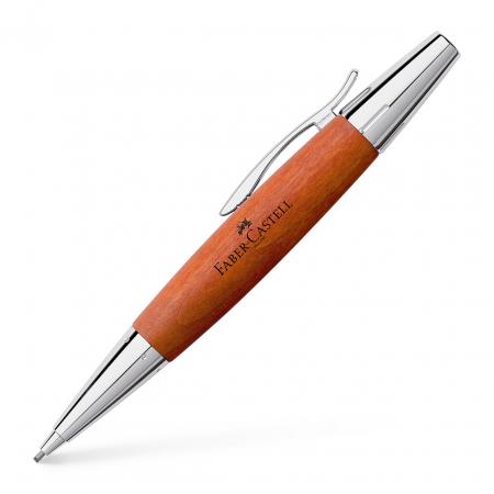 Creion Mecanic 1.4 mm E-Motion Pearwood / Maro Deschis Faber-Castell0