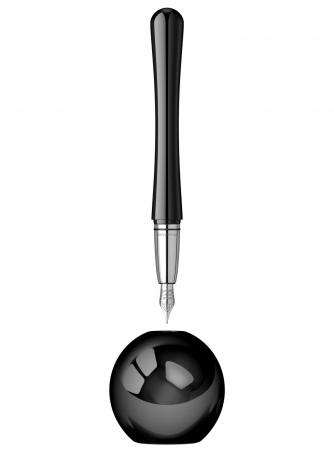 Desk Pen Set Stilou Luna Black Desk Monteverde USA [0]