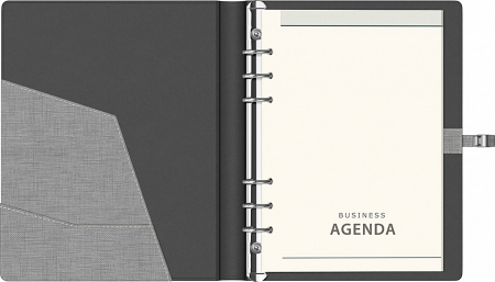 Organizator A5,  6 inele Trend Precision (5 variante culori coperti) [4]