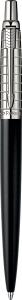 Pix Parker Jotter Premium Satin Black Stainless Steel Chiselled CT [3]
