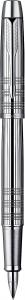Stilou Parker IM Premium Shiny Chrome Chiselled CT [3]