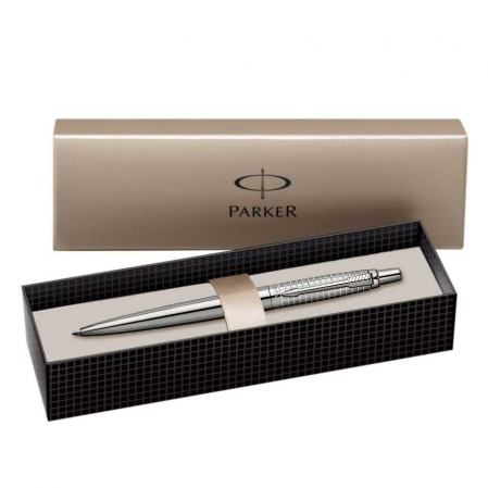 Pix Parker Jotter Premium Classic Stainless Steel Chiselled CT [2]