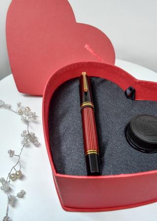 Cutie Cadou Stilou Pelikan Souveran M600 + Cerneala Pelikan2