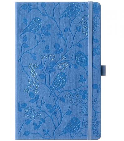 Bloc Notes Ivory Nature Bleu 13x21 cm  Herlitz0