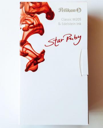 Stilou Classic M205 DUO Star Ruby Pelikan + Cerneala Edelstein Star Ruby5