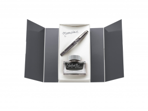 Stilou Classic M205 Moonstone Pelikan + Cerneala Edelstein Moonstone 50ml0