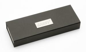 Stilou LAMY Logo Stainless Steel / Black1