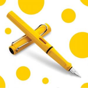 Stilou Lamy Safari Yellow1
