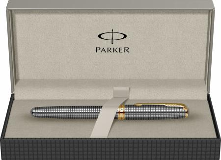 Stilou Parker Sonnet Cisele Sterling Silver GT [7]