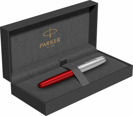 Stilou Parker Sonnet Royal Essential Red Chrome CT [5]