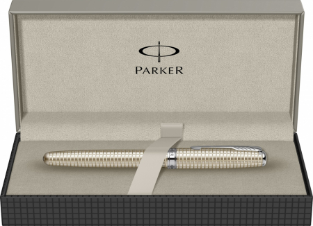 Stilou Parker Sonnet Velvet Sterling Silver CT [5]