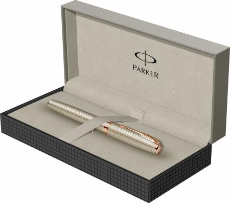 Stilou Parker Sonnet Velvet Sterling Silver GT [7]