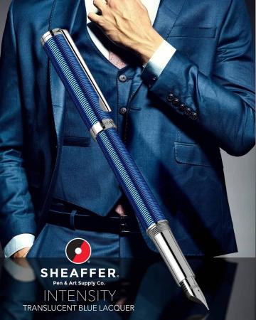 Stilou Sheaffer Intensity Engraved Translucent Blue CT6