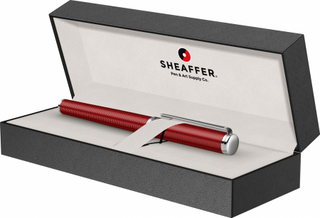 Stilou Sheaffer Intensity Engraved Translucent Red CT [6]
