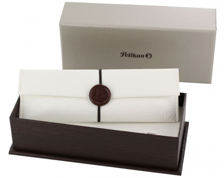 Stilou Souveran M800 Black-Brown Pelikan5
