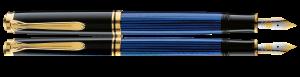Stilou Souveran M800 Black-Blue Pelikan [1]