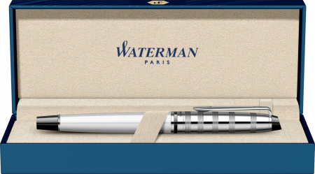 Stilou Waterman Expert DeLuxe White CT [6]