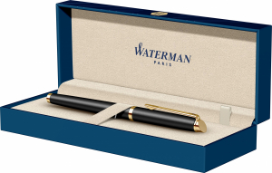 Stilou Waterman Hemisphere Essential Matt Black GT [2]