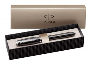 Stilou Parker Urban Premium Ebony Metal Chiselled CT2