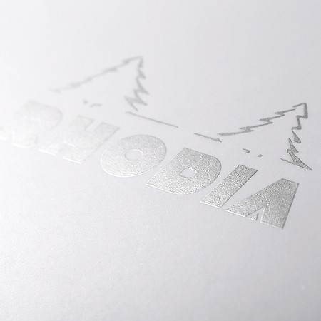 Blocnotes RHODIA No.13, White A6, 80 file, dictando 2