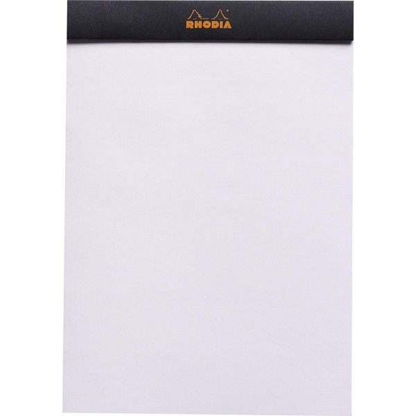 Blocnotes RHODIA No.16, Black A5, 80 file, velin 1