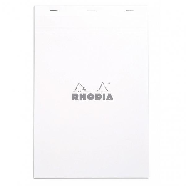 Blocnotes RHODIA No.19, White A4, 80 file, dictando 0