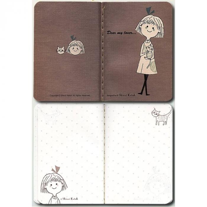 Carnetel de buzunar Shinzi Katoh Note Small (85x120mm), 64 pagini [0]