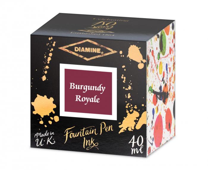 Diamine 150th Anniversary Burgundy Royale 40 ML 1