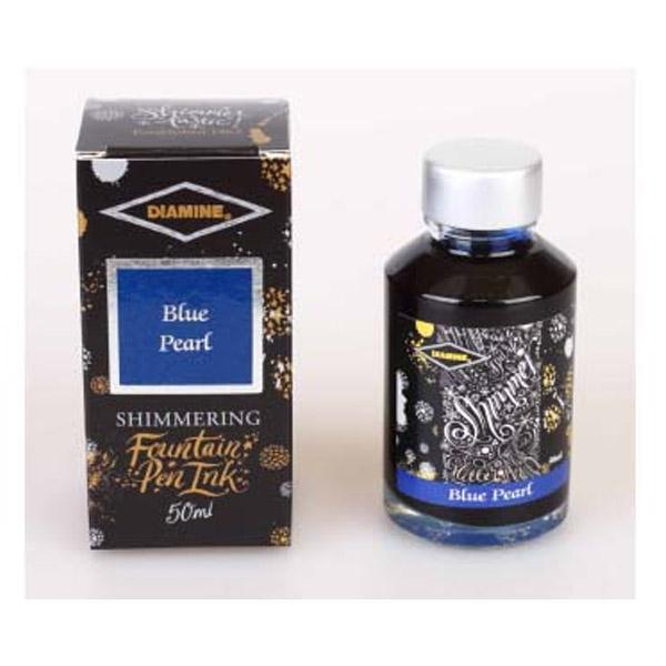 Diamine Shimmer Ink Blue Pearl 50 ML 1