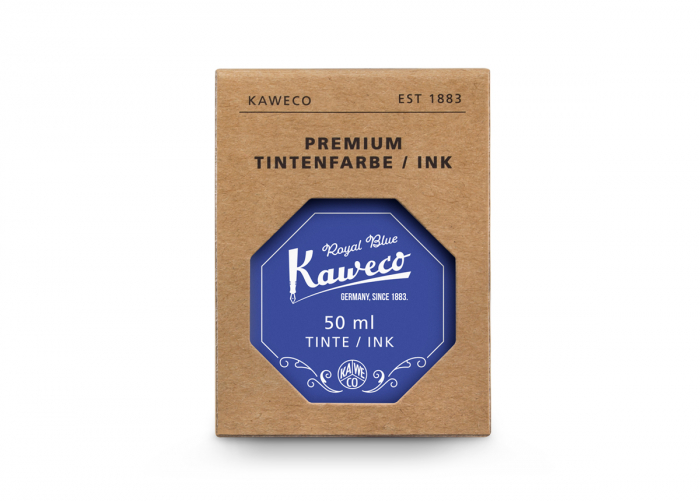 Kaweco Royal Blue 50 ml - cerneala la calimara 0