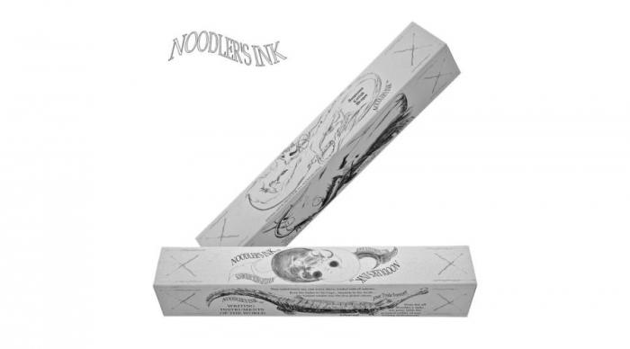 Noodler's 14070 Lake Baikal Acrylic Konrad Flex [2]