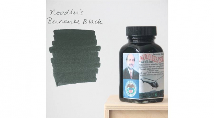 Noodler's Ink 19066 Bernanke Black 85 ML 0