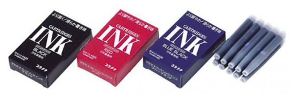 Patroane de cerneala Platinum Blue-Black - set de 10 bucati 1