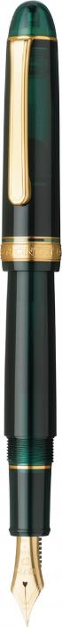 Platinum #3776 CENTURY Laurel Green F - Penita Aur 14K 1